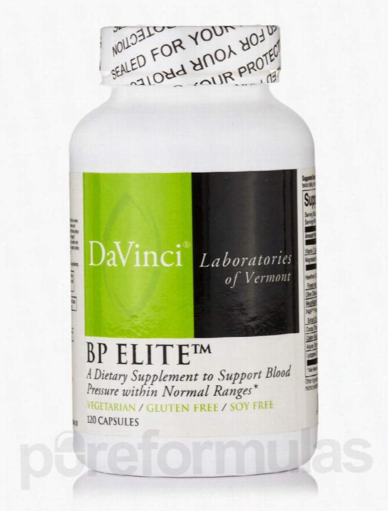 DaVinci Labs Cardiovascular Support - BP Elite - 120 Vegetarian