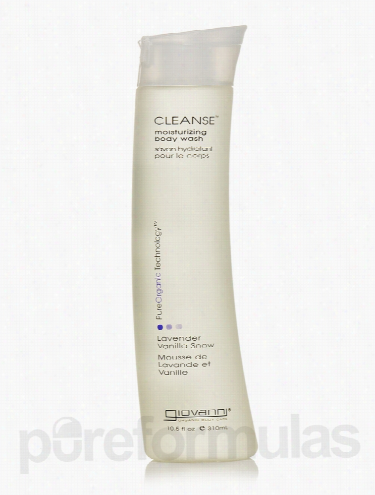 Giovanni Cosmetics Bath and Body - Cleanse Lavender Vanilla Snow Body