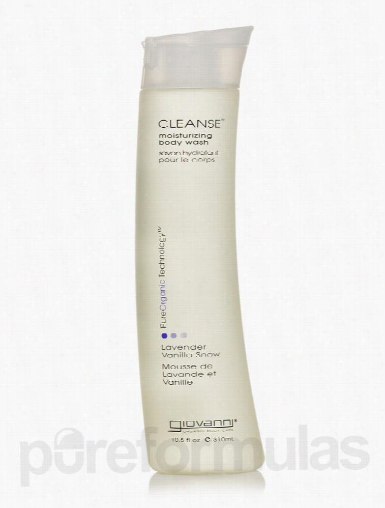 Giovanni Cosmetics Bath and Body - Cleanse Lavender Vanilla Snow Body
