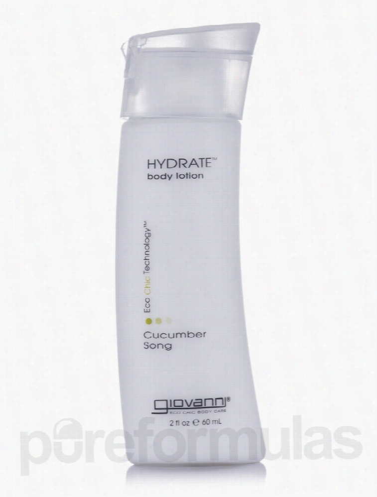 Giovanni Cosmetics Bath and Body - Hydrate Body Lotion Cucumber Song -