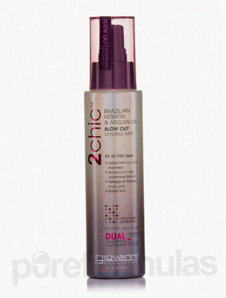 Giovanni Cosmetics Hair - Blow Out Styling Mist - 4 fl. oz (118 ml)