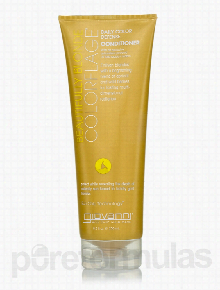 Giovanni Cosmetics Hair - ColorFlage Beautiful Blond Conditioner - 8.5