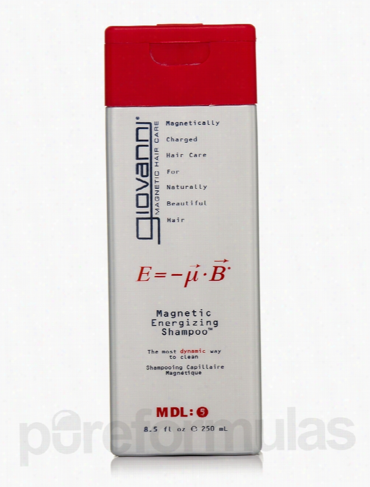 Giovanni Cosmetics Hair - Magnetic Energizing Shampoo - 8.5 fl. oz