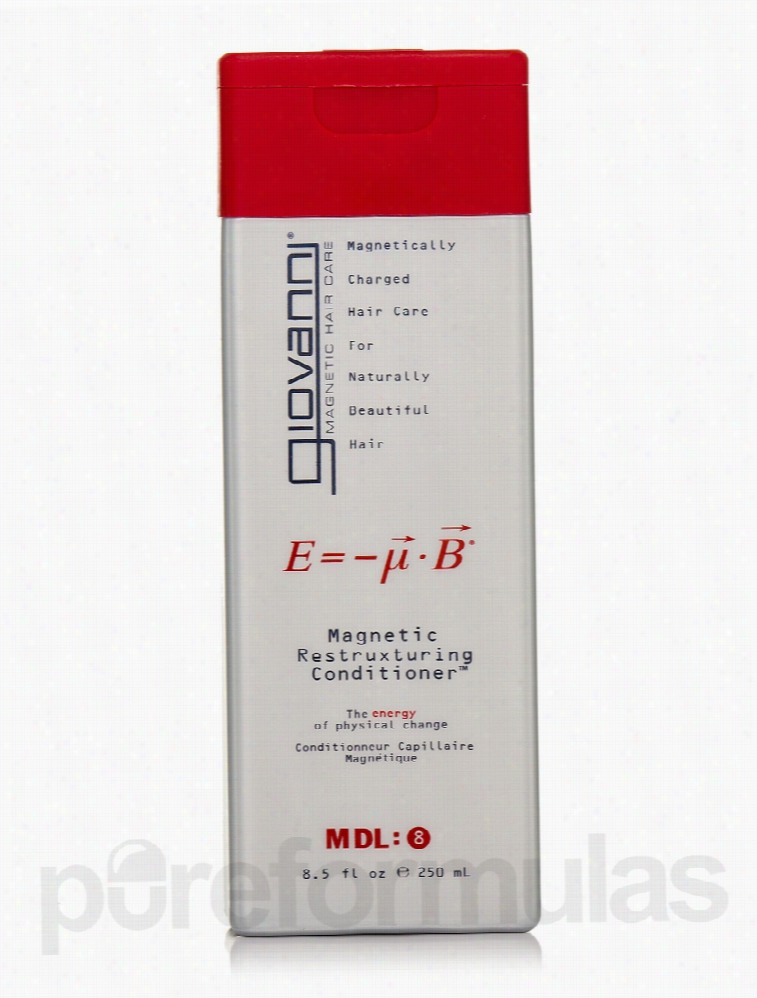 Giovanni Cosmetics Hair - Magnetic Restruxturing Conditioner - 8.5 fl.