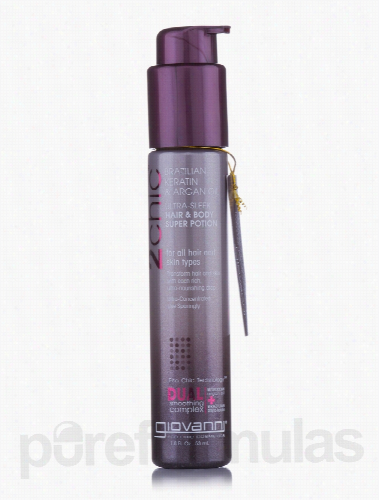 Giovanni Cosmetics Hair - Ultra-Sleek Hair & Body Super Potion - 1.8