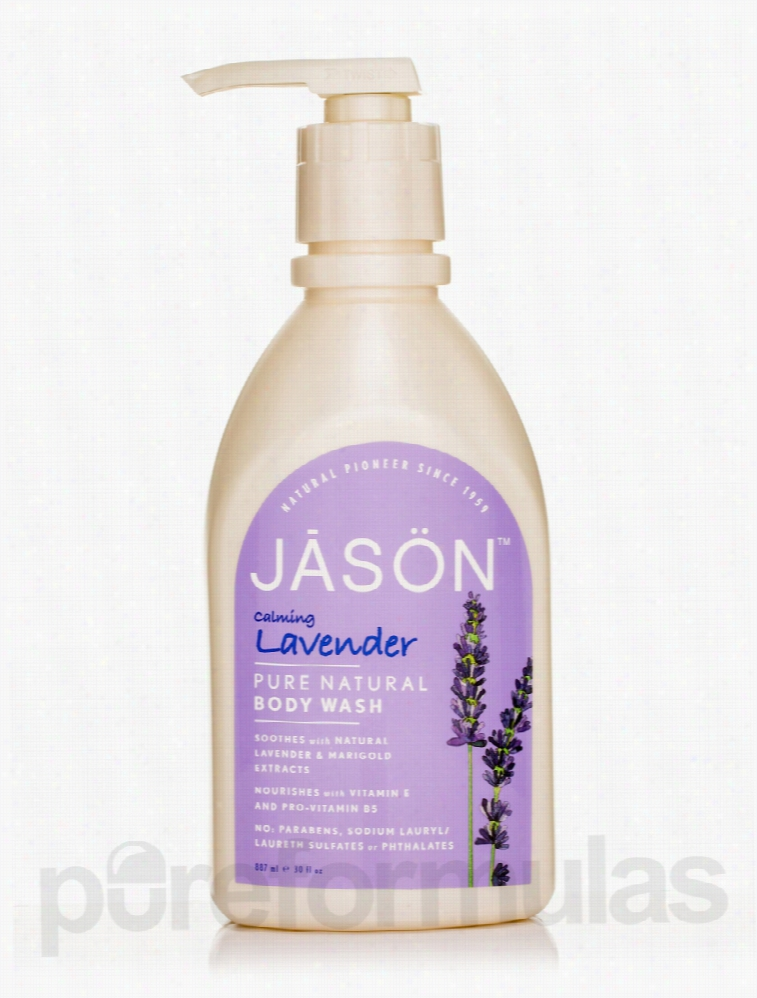 Jason Natural Products Bath and Body - Calming Lavender Body Wash - 30