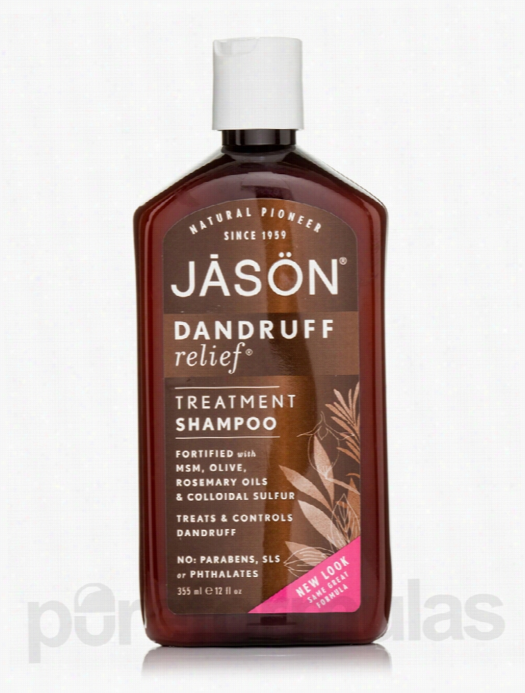 Jason Natural Products Hair - Dandruff Relief Treatment Shampoo - 12