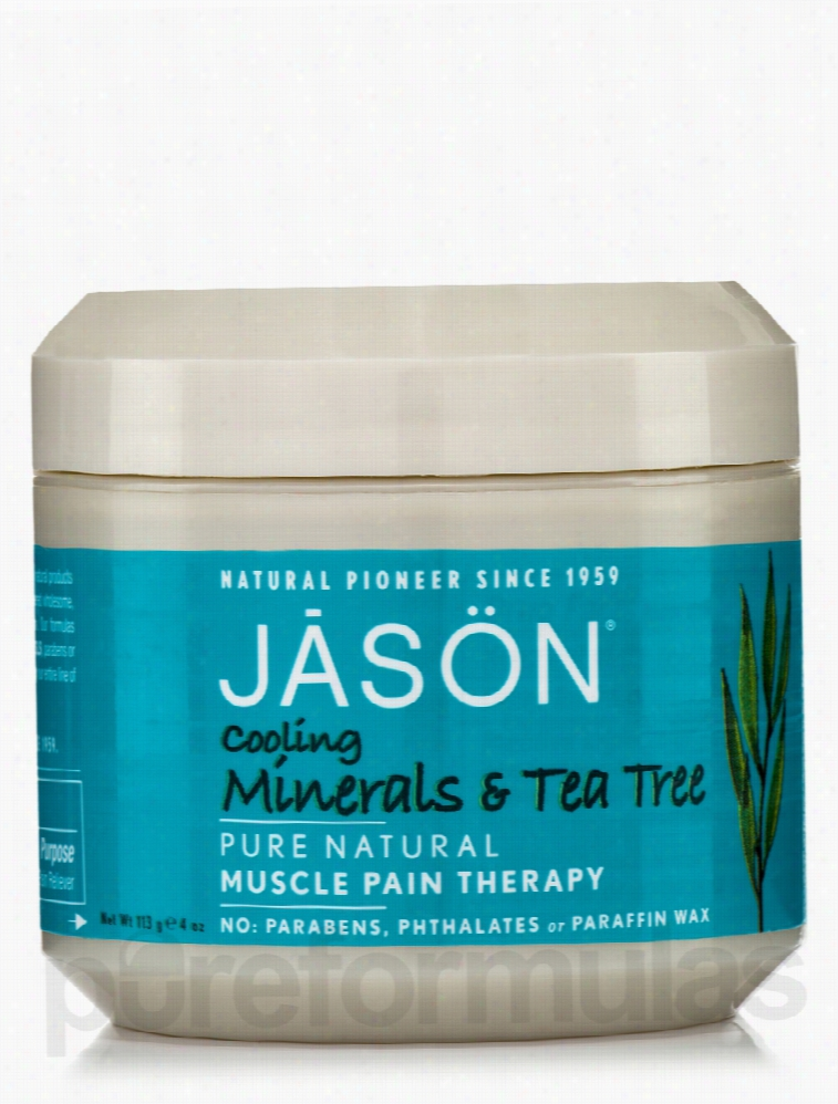 Jason Natural Products Joint Support - Cooling Minerals & Tea Tree