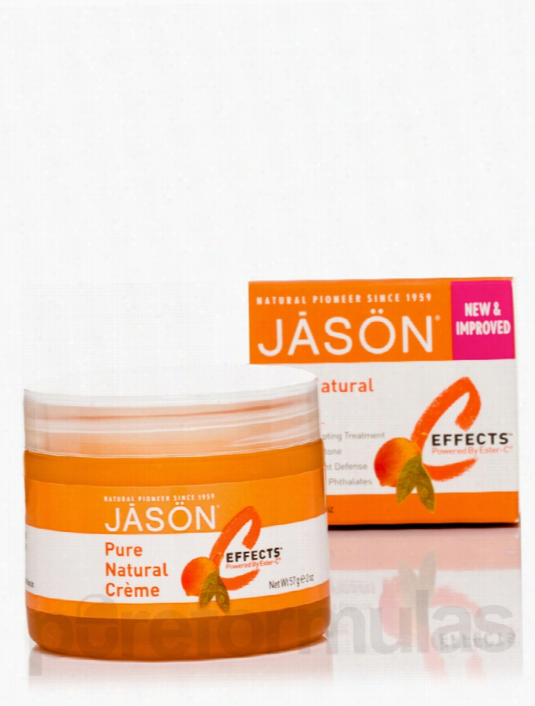 Jason Natural Products Skin Care - C-Effects Natural Creme - 2 oz (57