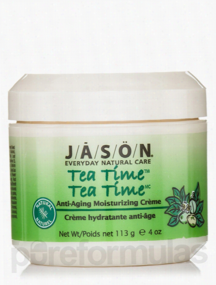 Jason Natural Products Skin Care - Tea Time (Anti-Aging Moisturizing