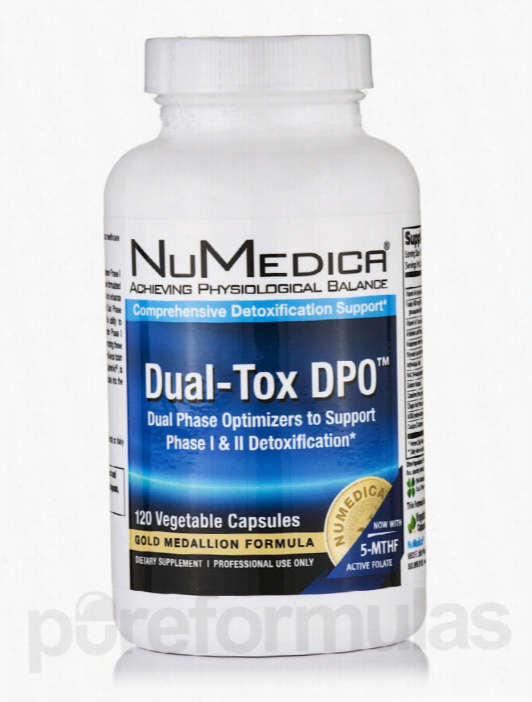 NuMedica Detoxification - Dual-Tox DPO - 120 Vegetable Capsules