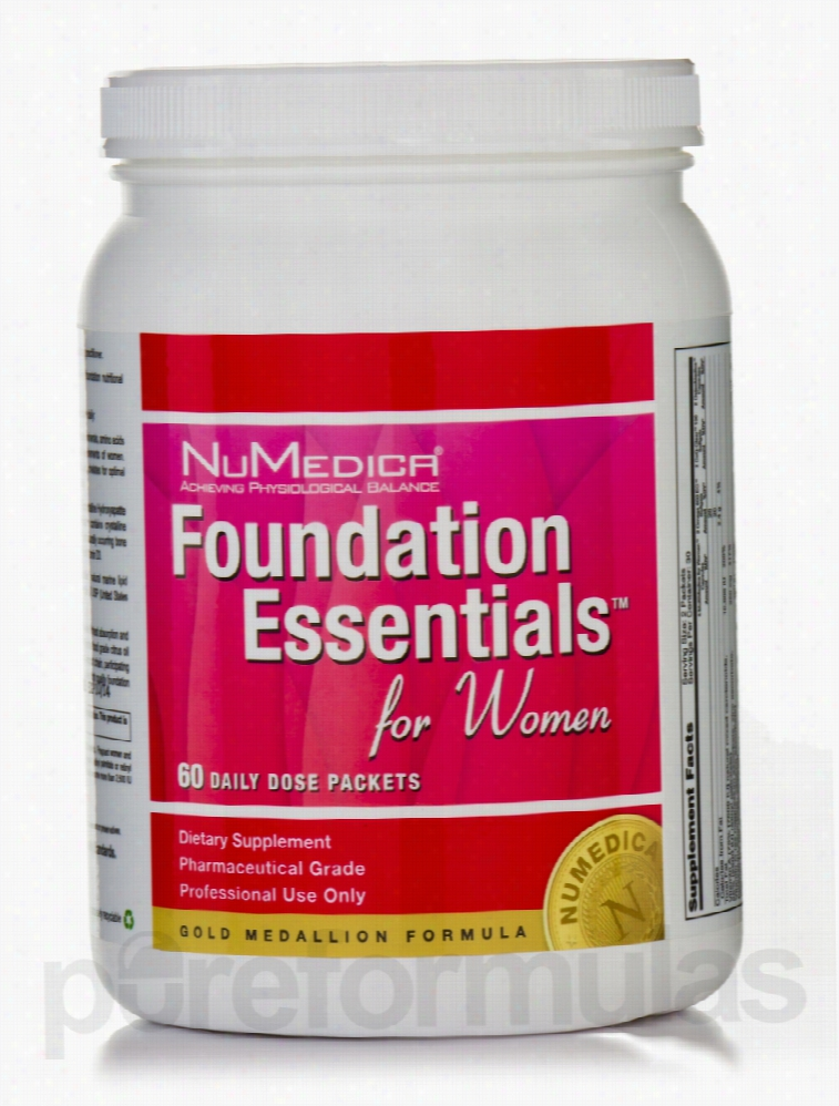 NuMedica Women's Health - Foundation Essentials for Women - 60 Packets