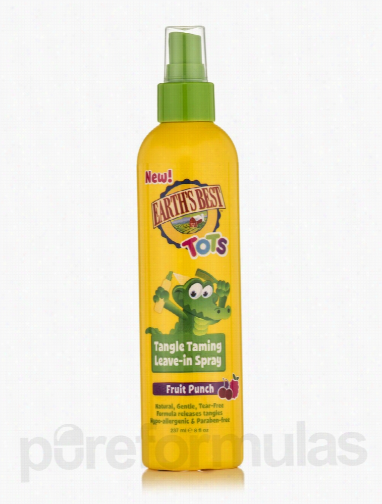 Jason Natural Products Hair - Tots Tangle Taming Leave-In Spray Fruit