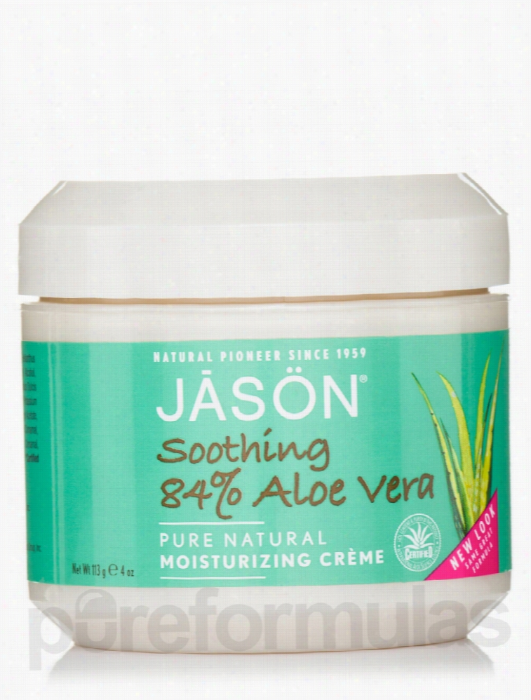 Jason Natural Products Skin Care - Soothing 84% Aloe Vera Cream - 4 oz