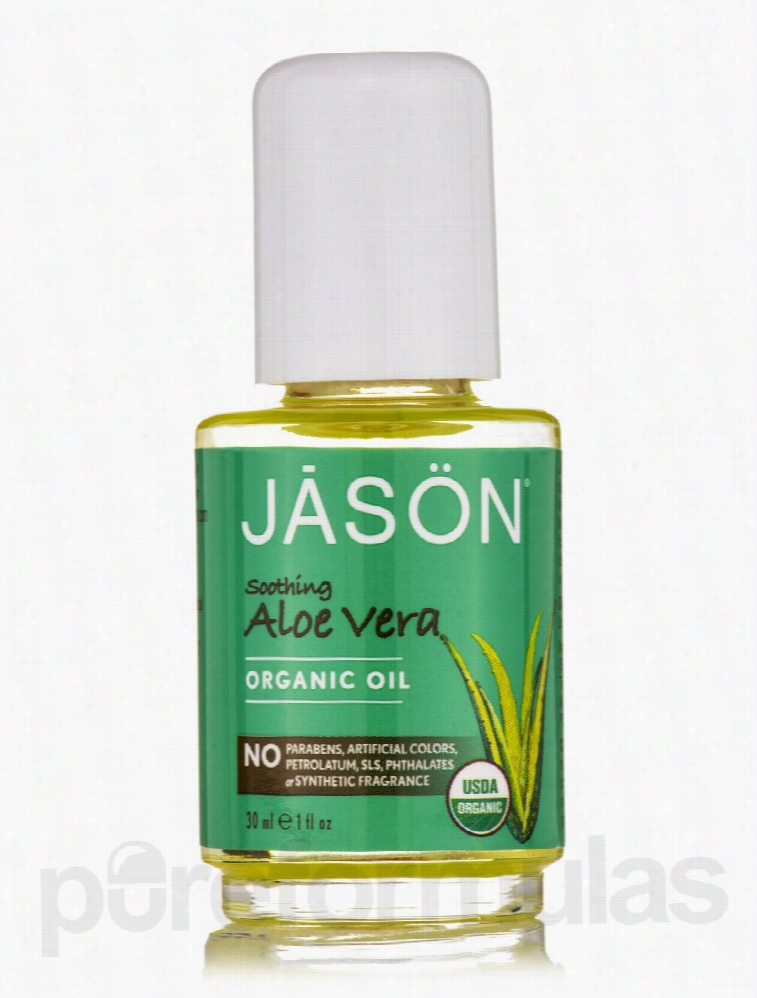 Jason Natural Products Skin Care - Soothing Aloe Vera Organic Oil - 1