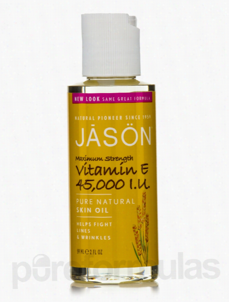 Jason Natural Products Skin Care - Vitamin E Oil 45,000 I.U. - 2 fl.
