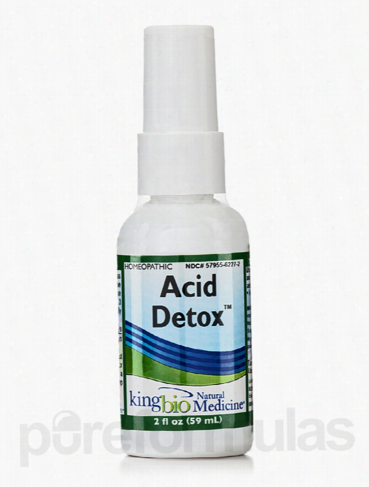 King Bio Homeopathic Remedies - Acid Detox - 2 fl. oz (59 ml)