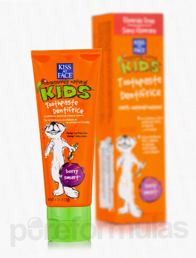 Kiss My Face Oral Health - Berry Smart Toothpaste Dentifrice w/o