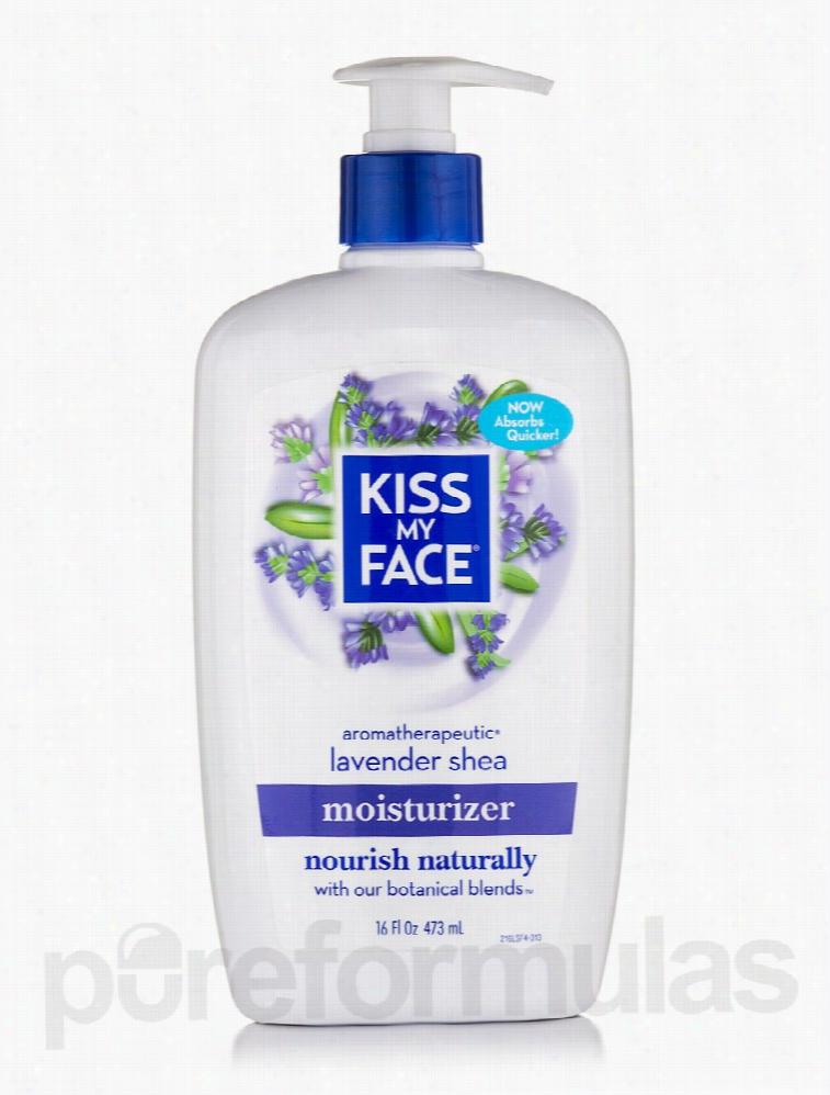 Kiss My Face Skin Care - Lavender & Shea Butter Moisturizer - 16 fl.