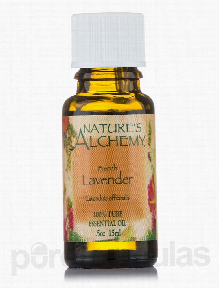 Nature's Alchemy Aromatherapy - French Lavender Pure Essential Oil -