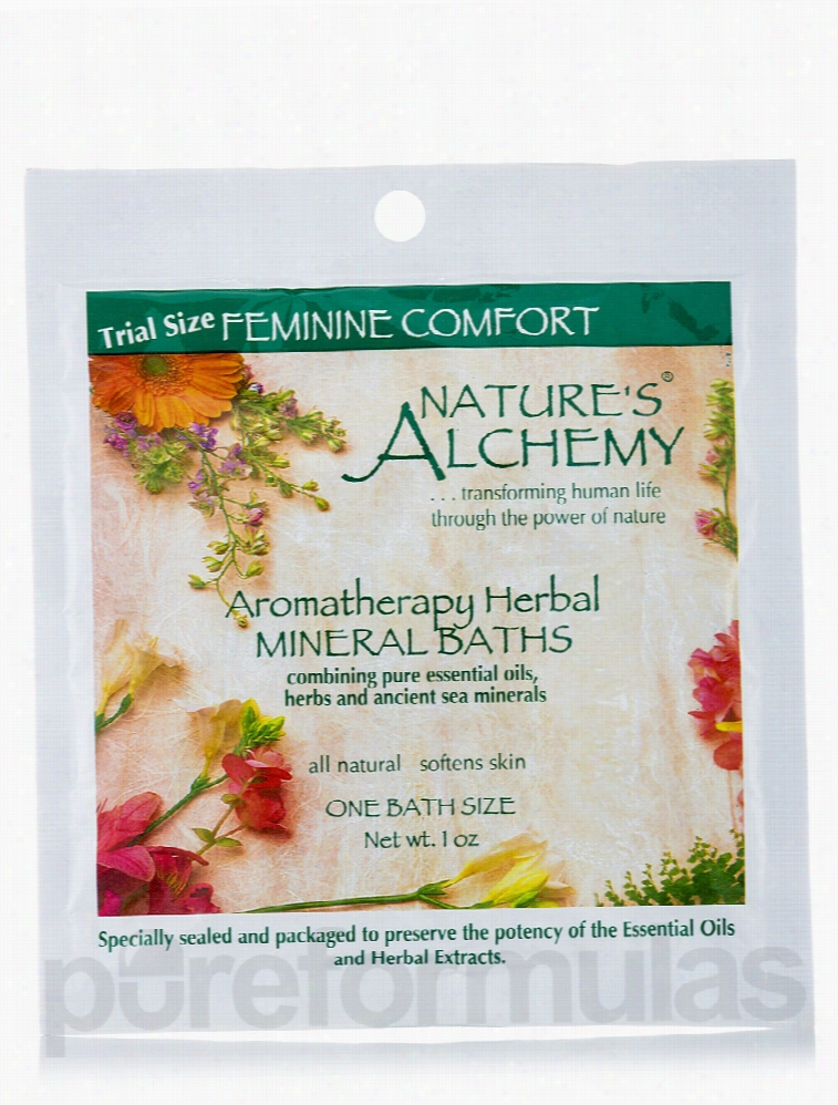 Nature's Alchemy Bath and Body - Feminine Comfort Aromatherapy Mineral