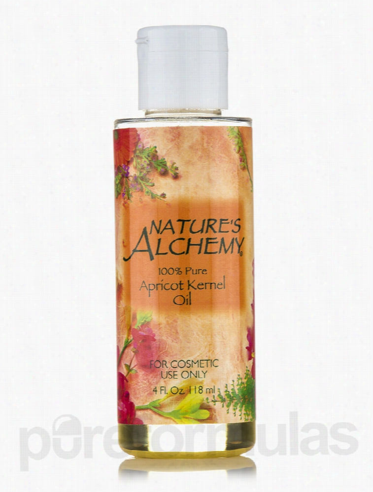 Nature's Alchemy Skin Care - Apricot Kernel Carrier Oil - 4 fl. oz