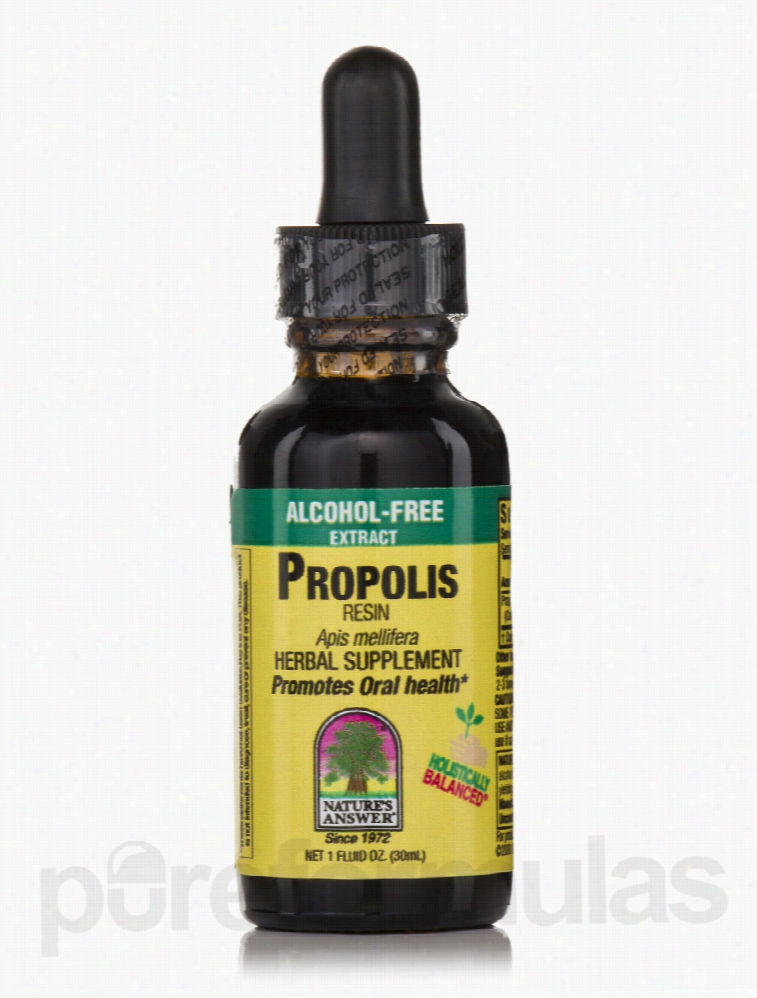 Nature's Answer Herbals/Herbal Extracts - Propolis Resin Extract