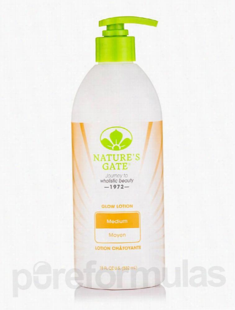 Nature's Gate Bath and Body - Medium Skin Tone Glow Lotion - 18 fl. oz