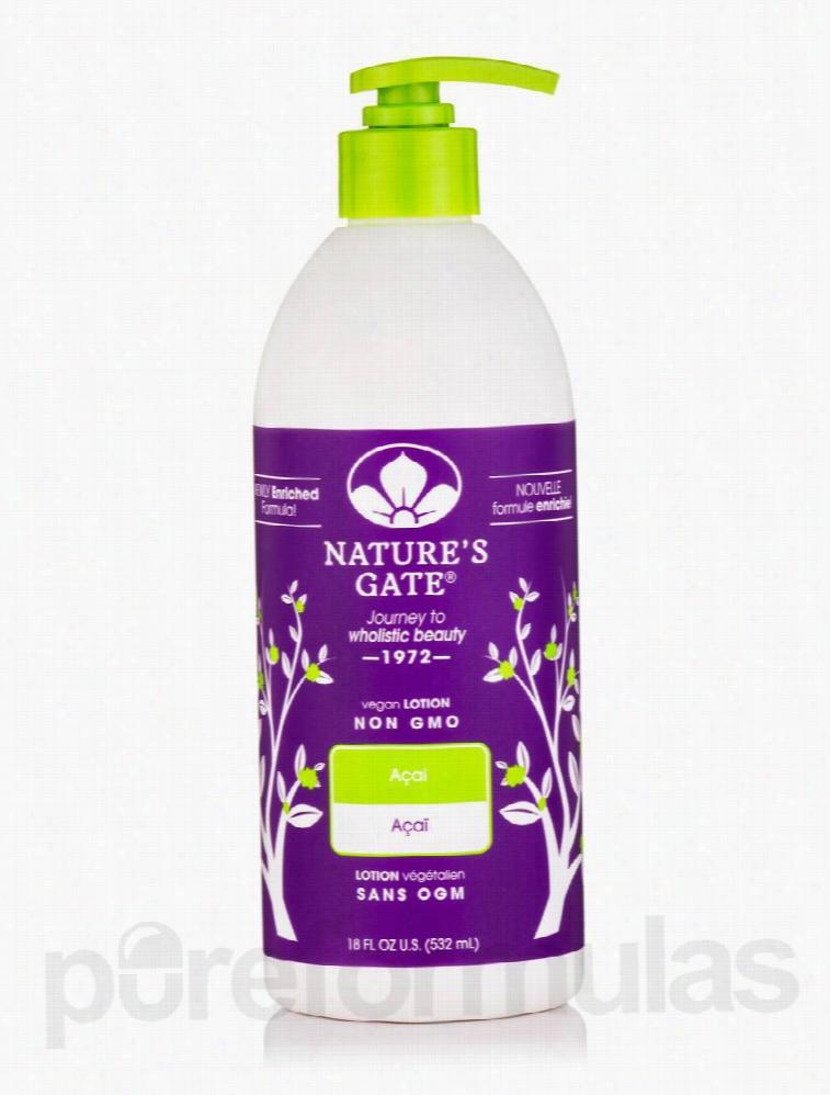 Nature's Gate Skin Care - Acai Moisturizing Lotion - 18 fl. oz 532 ml)