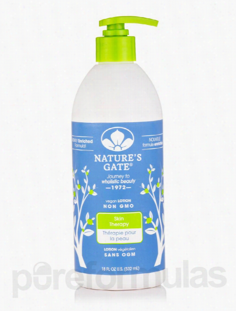 Nature's Gate Skin Care - Skin Therapy Lotion - 18 fl. oz (532 ml)