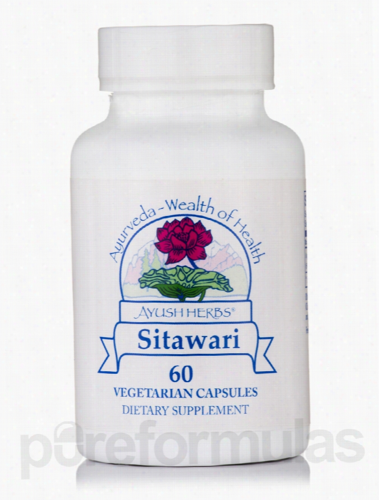 Ayush Herbs Sexual Wellness - Sitawari - 60 Vegetarian Capsules