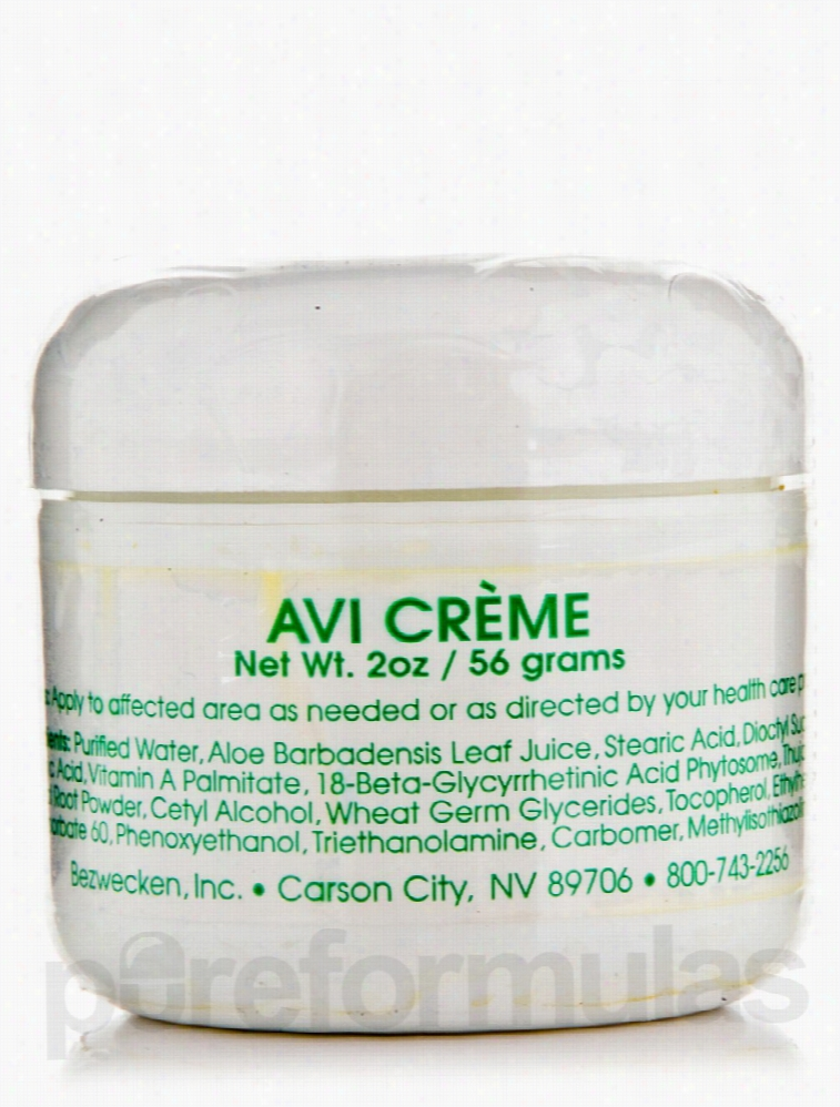 Bezwecken Skin Care - Avi Creme - 2 oz (56 Grams)