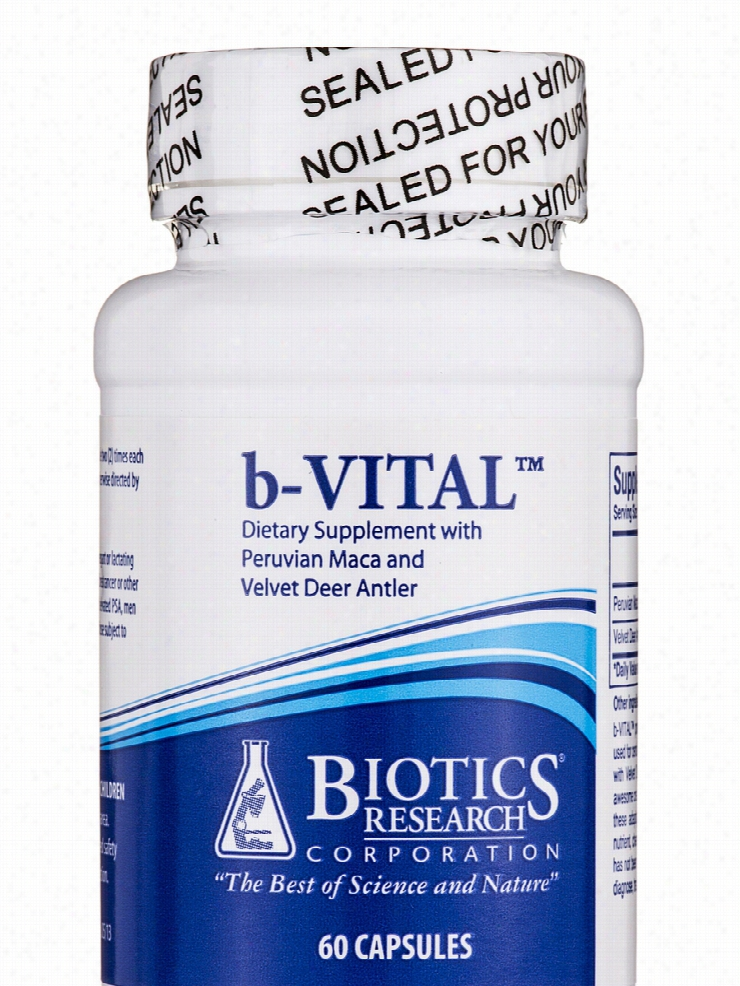 Biotics Research Cardiovascular Support - b-Vital - 60 Capsules