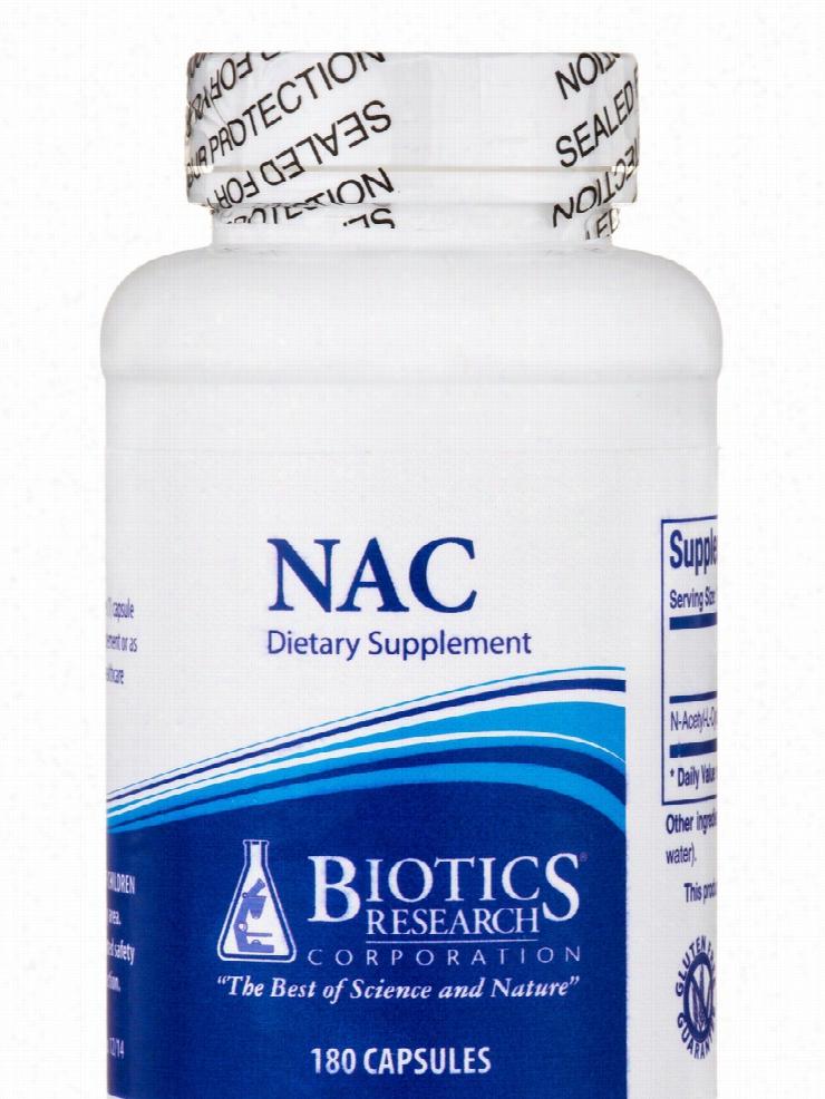 Biotics Research Detoxification - NAC - 180 Capsules