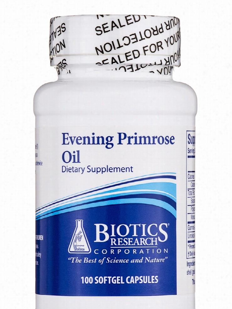 Biotics Research Essential Fatty Acids - Evening Primrose Oil - 100