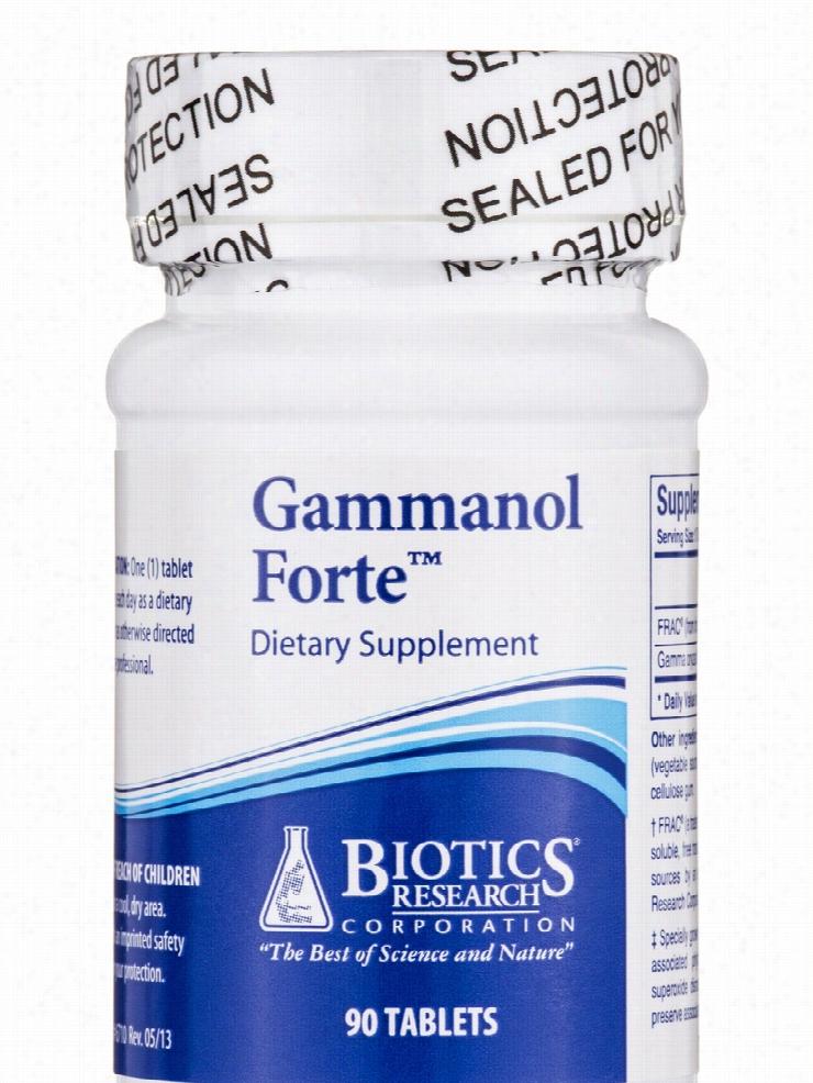 Biotics Research Hormone/Glandular Support - Gammanol Forte - 90