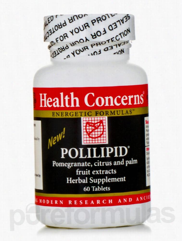 Health Concerns Cardiovascular Support - Polilipid - 60 Tablets