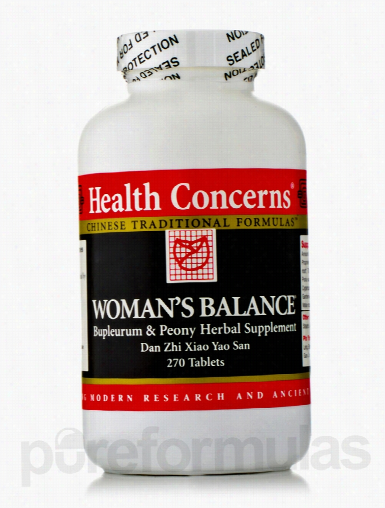 Health Concerns Cardiovascular Support - Womans Balance - 270