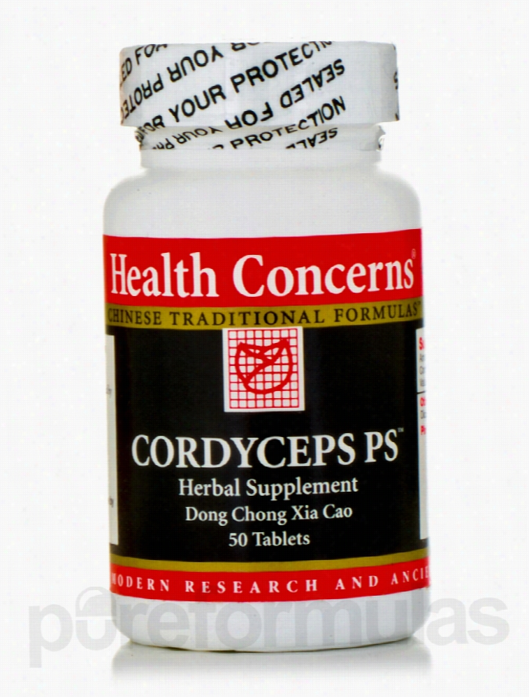 Health Concerns General Health - Cordyceps PS - 50 Tablets