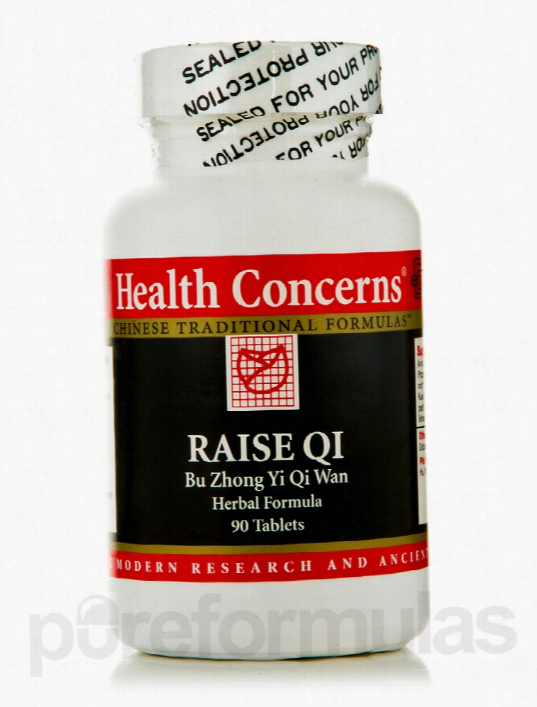 Health Concerns General Health - Raise Qi (Bu Zhong Yi Qi Wan) - 90