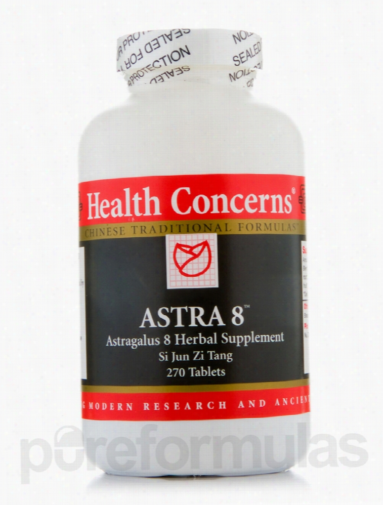 Health Concerns Herbals/Herbal Extracts - Astra 8 - 270 Tablets