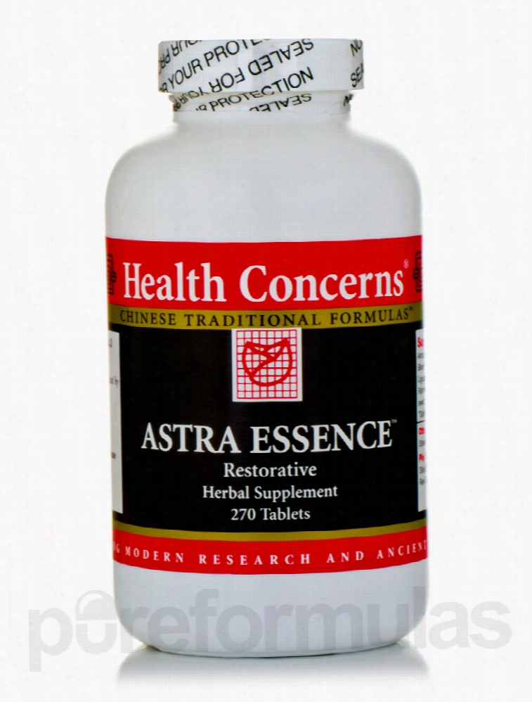 Health Concerns Herbals/Herbal Extracts - Astra Essence - 270 Tablets