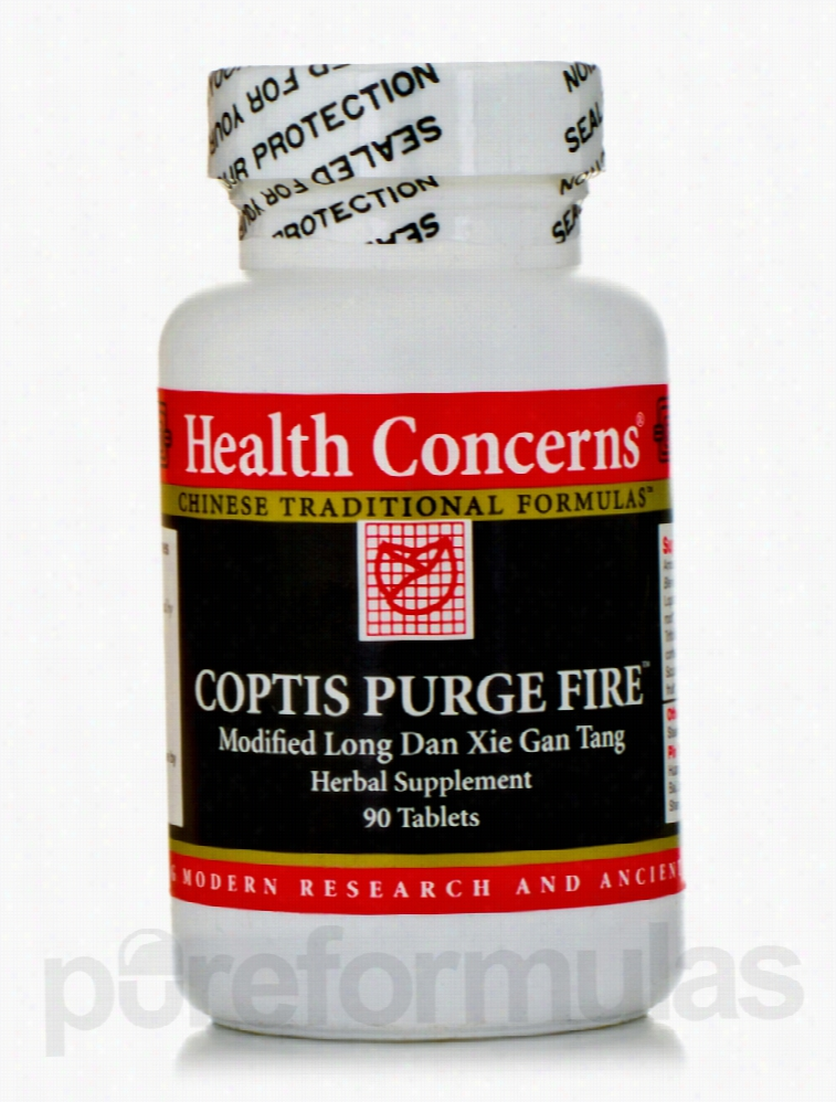 Health Concerns Herbals/Herbal Extracts - Coptis Purge Fire - 90 Tabs