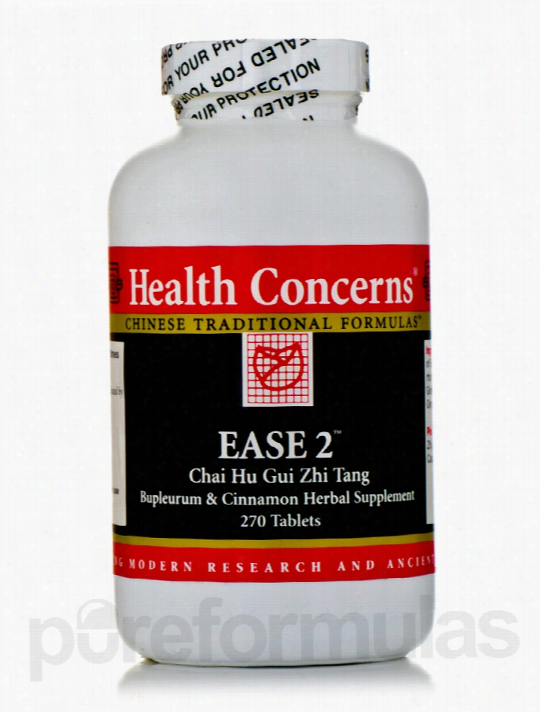 Health Concerns Herbals/Herbal Extracts - Ease 2 - 270 Tablets