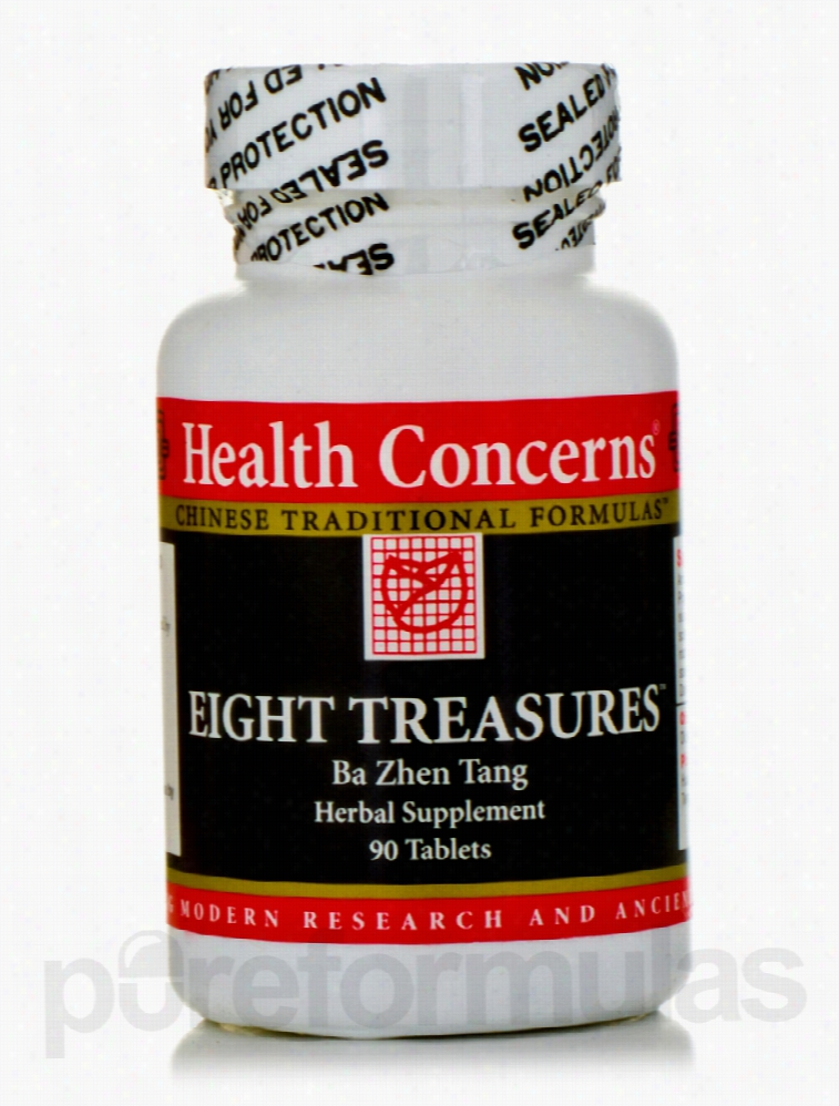 Health Concerns Herbals/Herbal Extracts - Eight Treasures - 90 Tablets