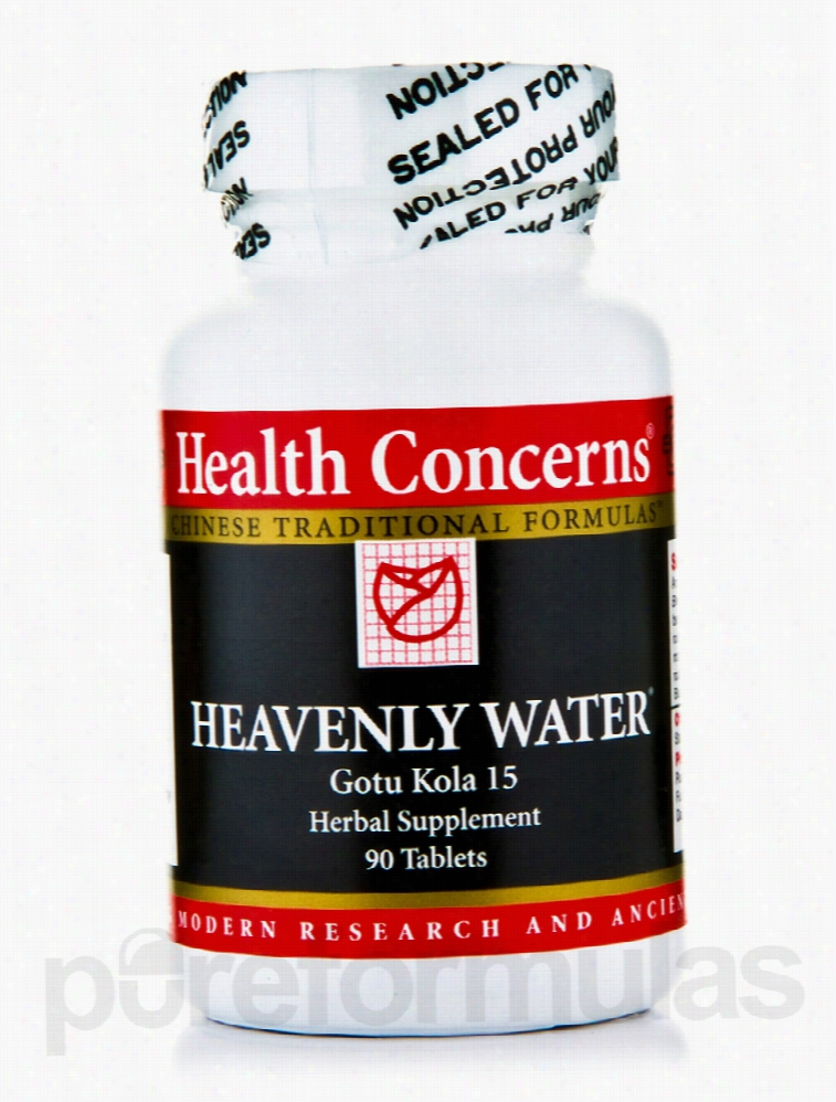 Health Concerns Herbals/Herbal Extracts - Heavenly Water - 90 Tablets