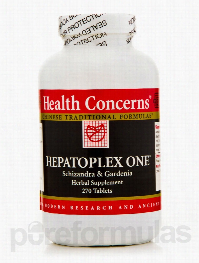 Health Concerns Herbals/Herbal Extracts - Hepatoplex One - 270 Tablets