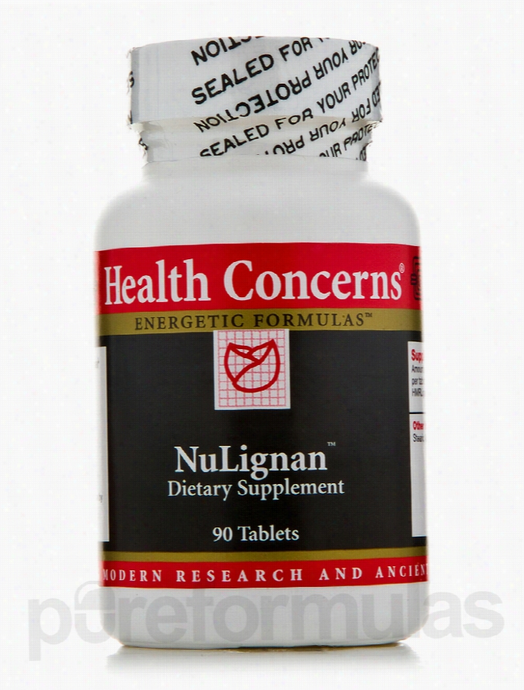 Health Concerns Herbals/Herbal Extracts - NuLignan - 90 Tablets
