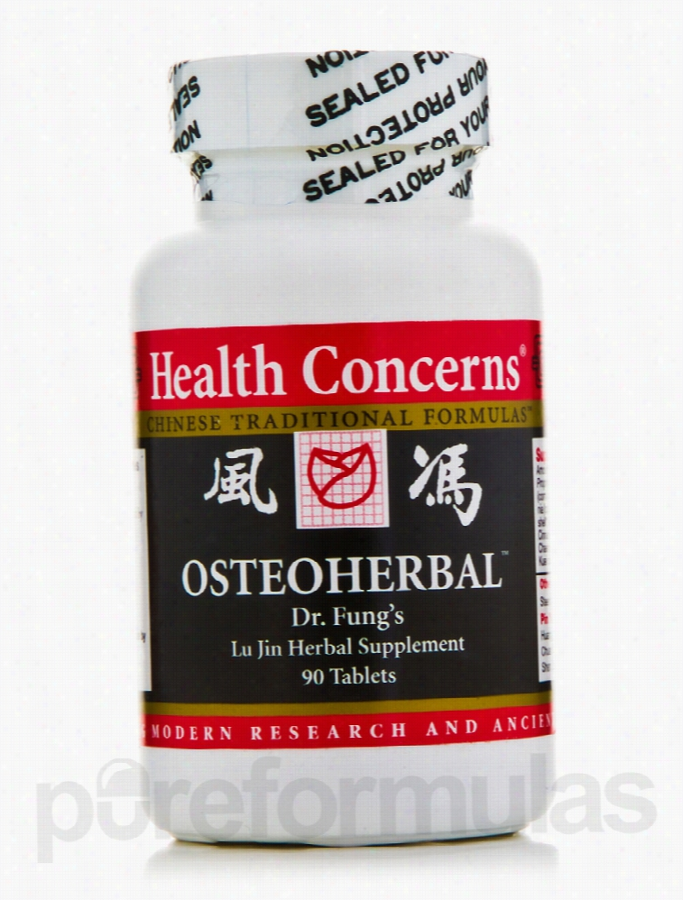 Health Concerns Herbals/Herbal Extracts - Osteo Herbal - 90 Tablets