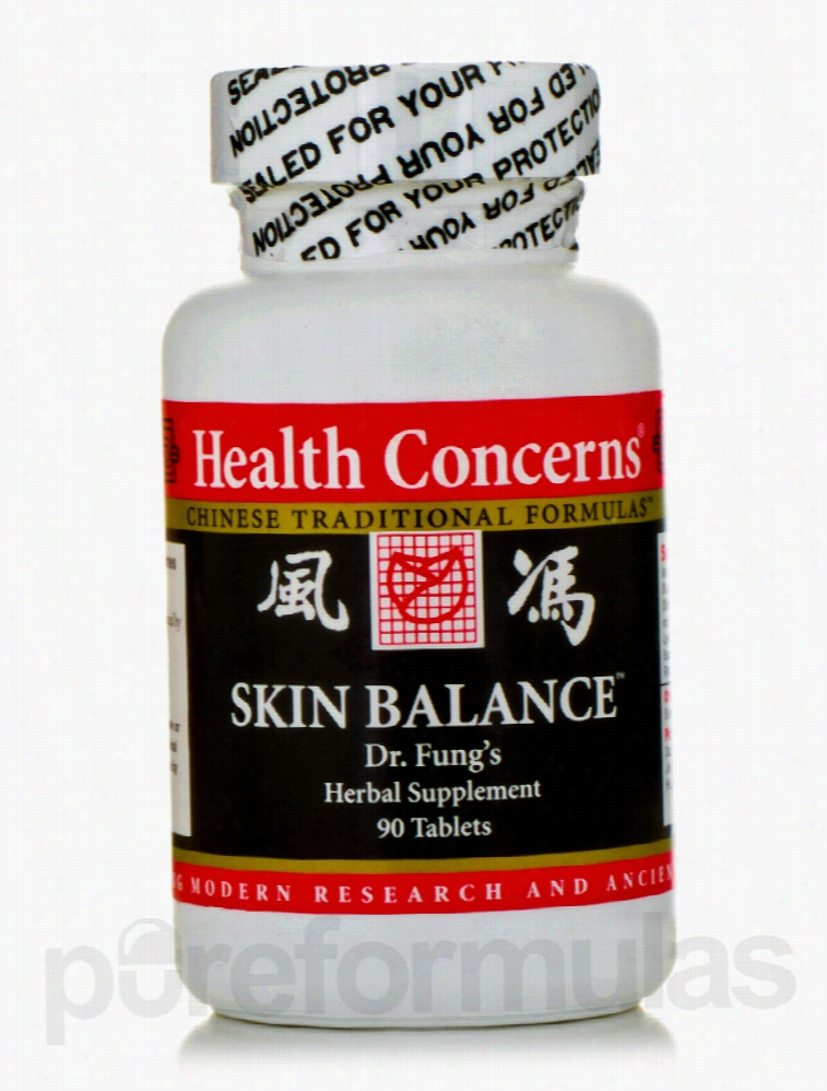 Health Concerns Herbals/Herbal Extracts - Skin Balance - 90 Tablets